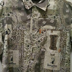 SnoopDogg Button Down Shirt